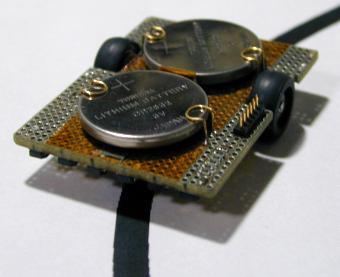 Miniature line follower robot