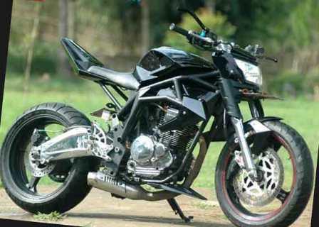 Foto Modifikasi Yamaha Scorpio