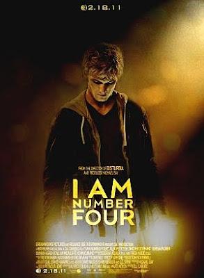Filme Poster Eu Sou o Número Quatro DVDRip XviD & RMVB Legendado