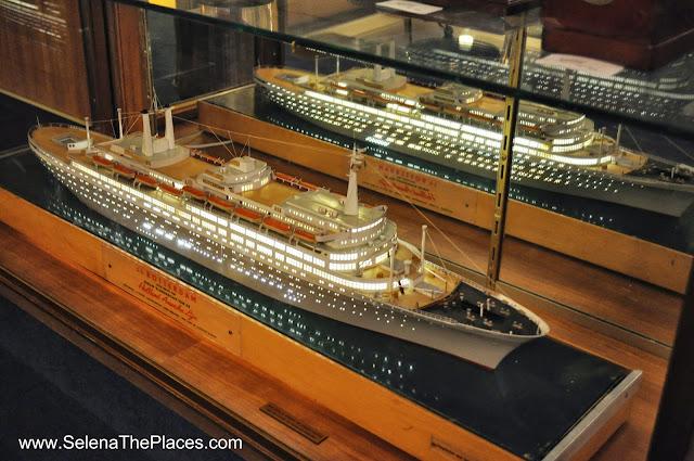 Ship Model SS Rotterdam