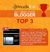 2011 Best Food Blogger Award