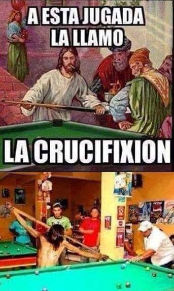 Jesús crucifixion humor