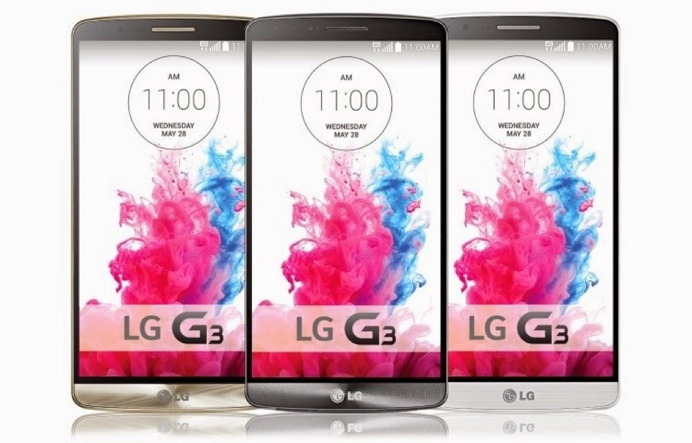 Spesifikasi LG G3 2014