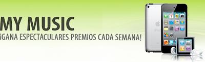 premios iPod Touch, iPod Nano, iPod Shuffle y Kits De Afeitar promocion schick My music Mexico latinoamerica 2011 2012