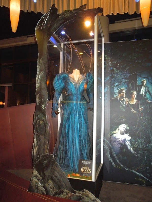 Meryl Streep Into the Woods blue Witch costume