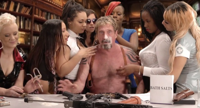 John McAfee, founder of the eponymous company, has finally melted the seals. Evidenced by a crazy video in which he knock out his former company. Intel, which bought the company for about 8 billion dollars, will certainly appreciate