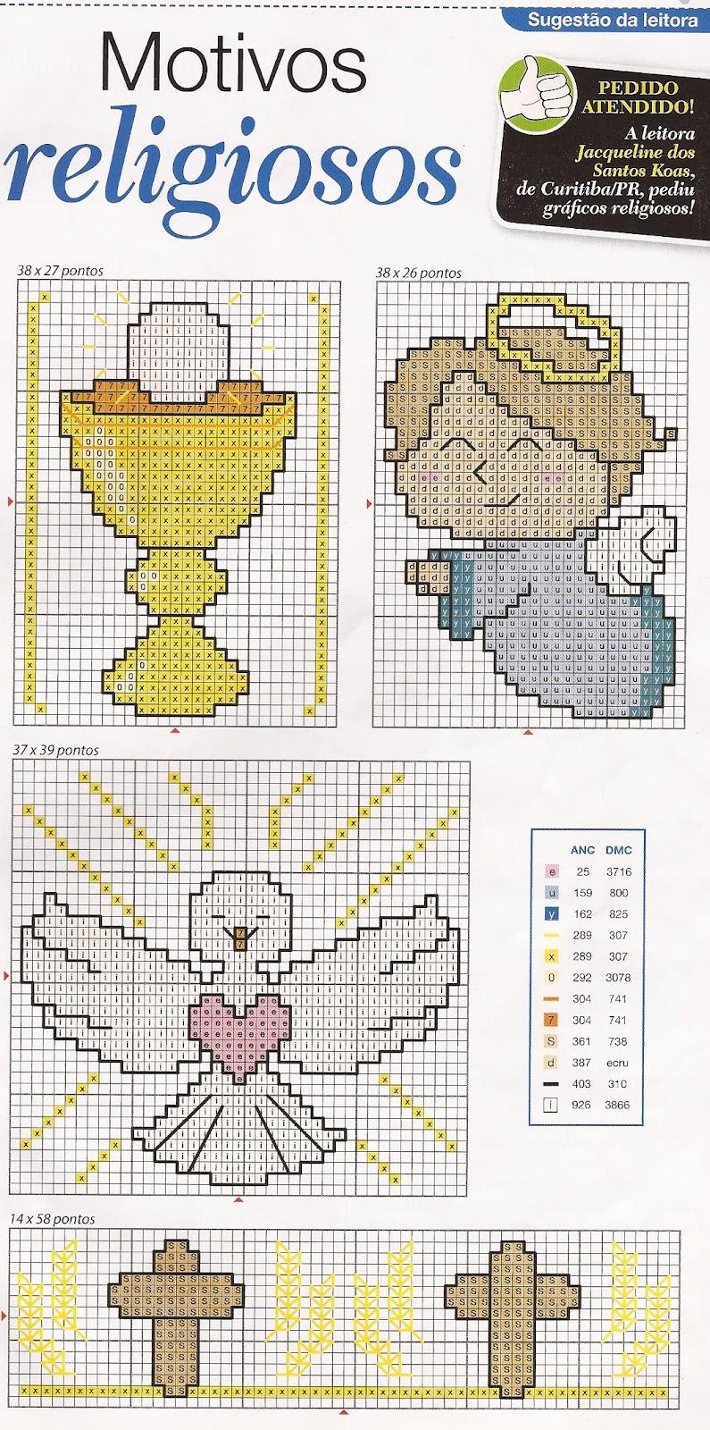 Punto de cruz para imprimir gratis ninos com portal - Motivos en punto de cruz ...