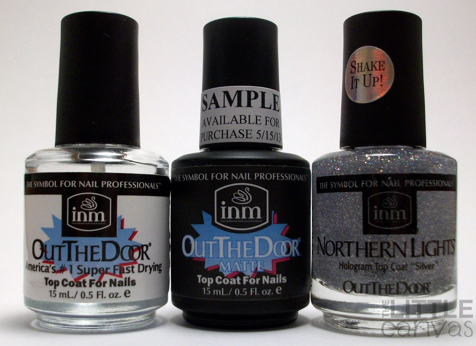 INM Nails - The Little Canvas Loves You - The Little Canvas