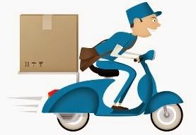 Cara menghitung waktu pengiriman barang oleh agen kurir.