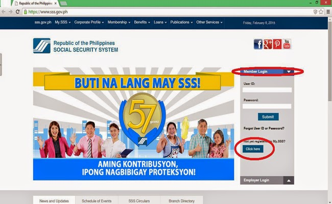 Step by Step: How to Check SSS Contributions Online Website