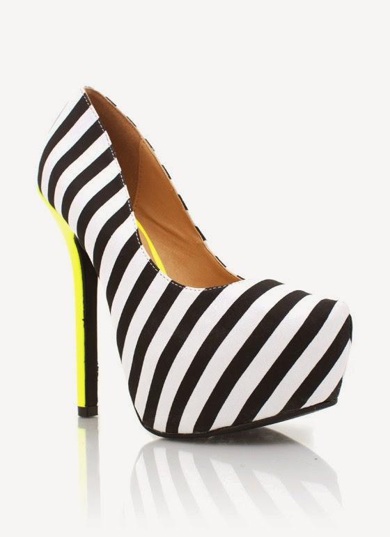 çizgili ayakkabılar