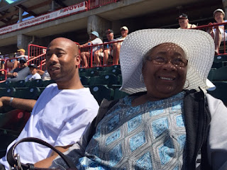 Christopher Bostick's Uncle & Grandmother - Jerry Uht Park, Erie, PA