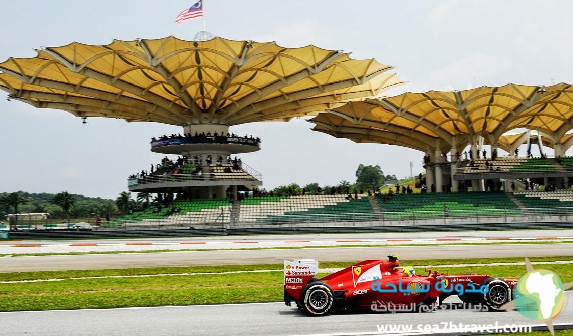 سباق السيارات الماليزى