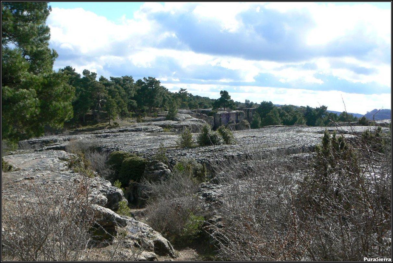 Vista de los Callejones De Las Majadas