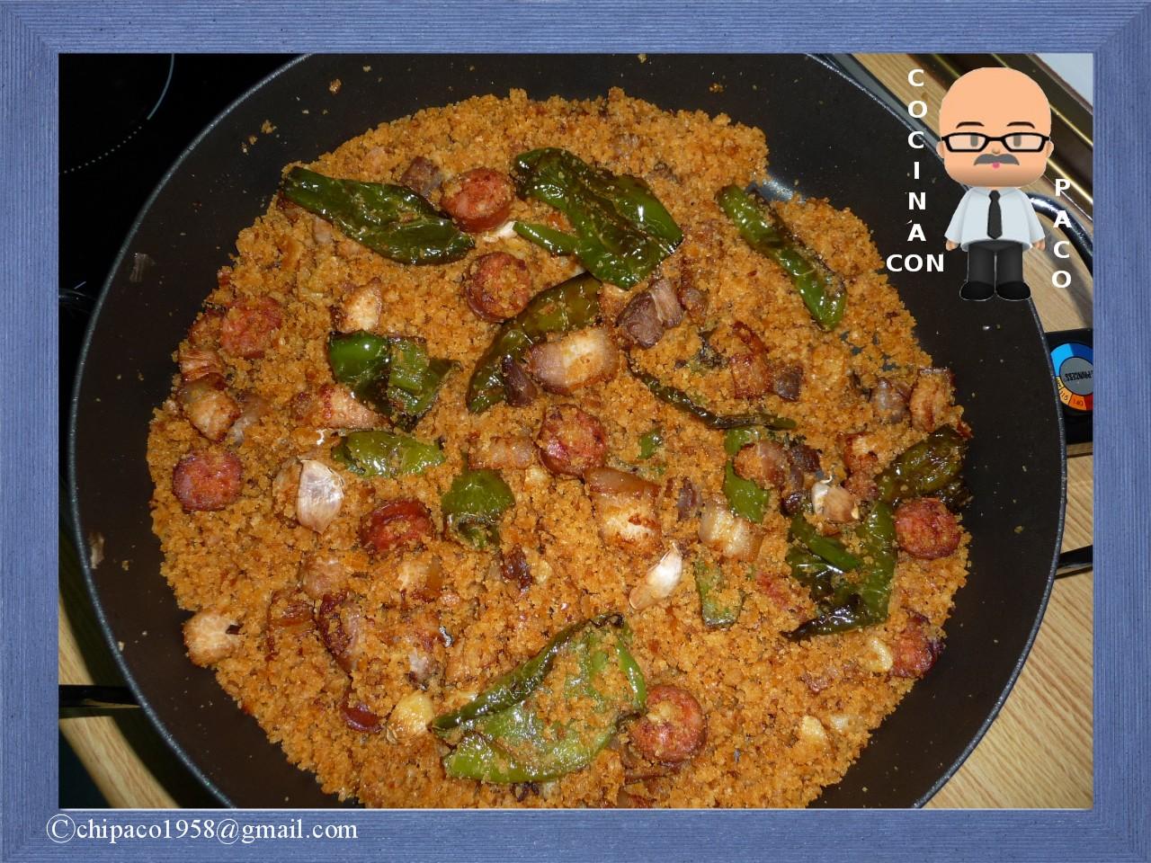 Cocina con Paco: Migas