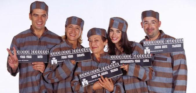 Reparto inicial de Siete Vidas, series longevas en la televisión española