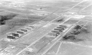 Construcción de Brasilia, ciudad que se convirtió en la capital de Brasil en 1960.