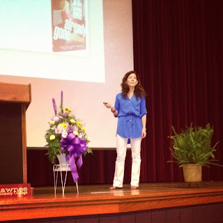 speaking at Shawnee Community College