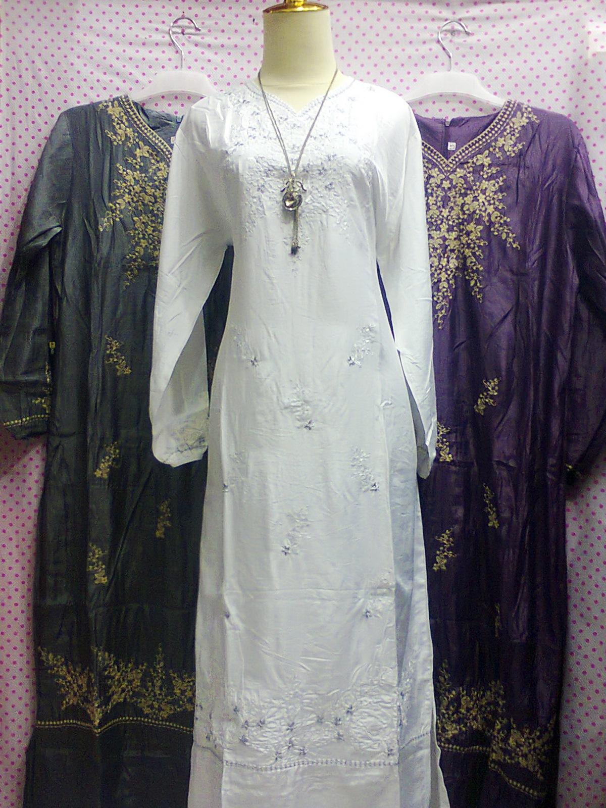 Bakrie Shop Gamis Sutra Sulam Idr