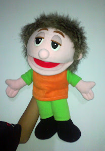 Boneka muppet mini