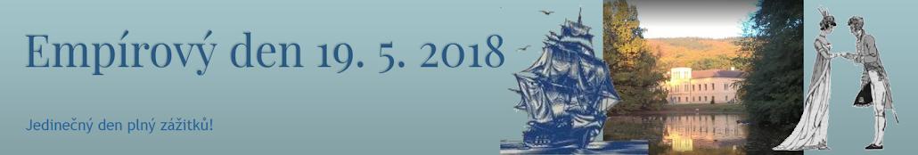 Empírový den  19. 5. 2018