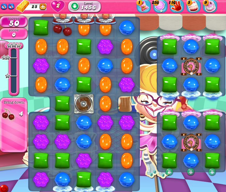 Candy Crush Saga 1456