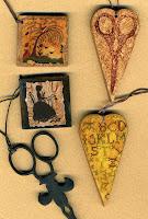 Scissor Fobs - $11.50 each