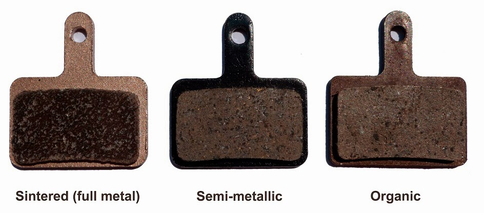 Different mtb brake pad compounds