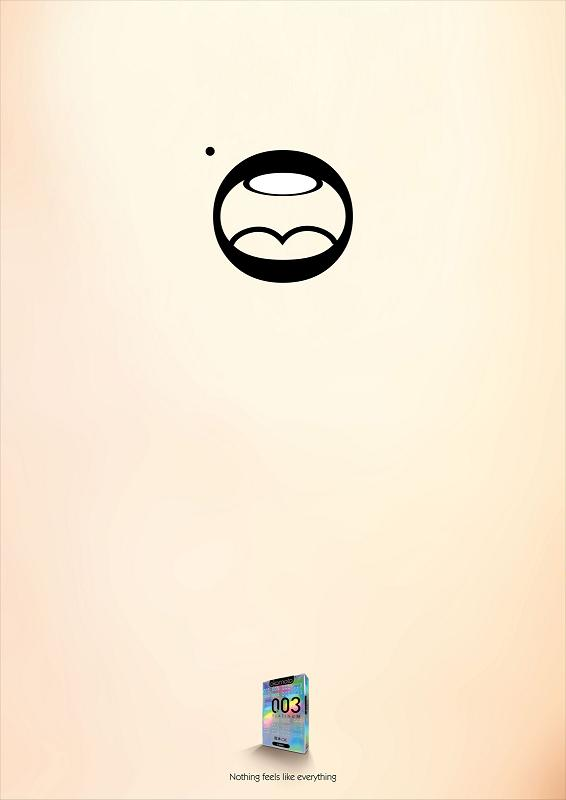 propaganda camisinha caracteres .003 okamoto