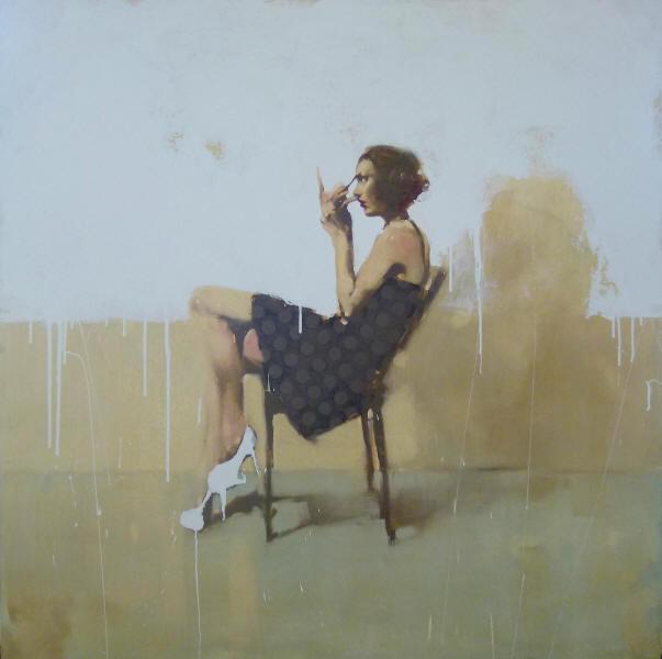 Doctor Ojiplatico. Michael Carson. Pintura