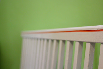 DIY Crib Painting