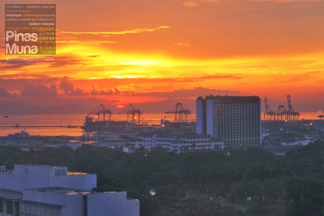 The Manila Sunset