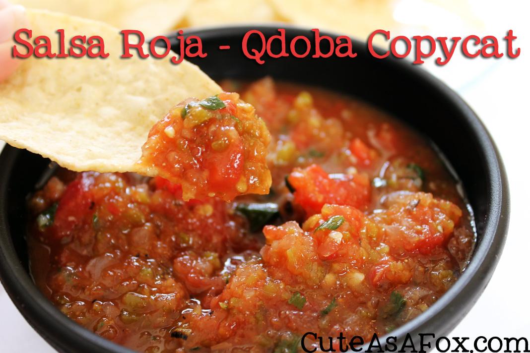 Salsa Roja – Qdoba Copycat recipe