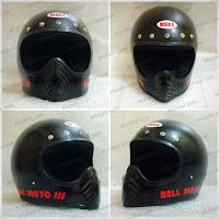 Helm Cakil Bell Moto 3 Edisi Lupa