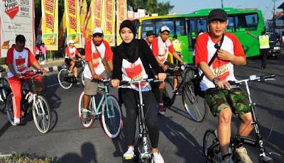 Aku ingin Jogja jadi kota sepeda