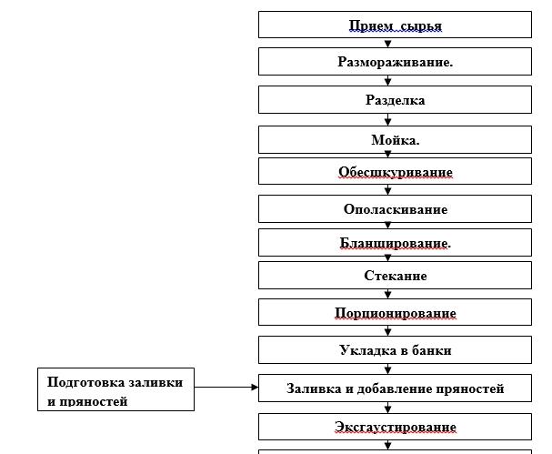 2.1 Технологическая схема