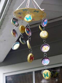 Sakura Hobby Crafts Bottle Cap Wind Chimes