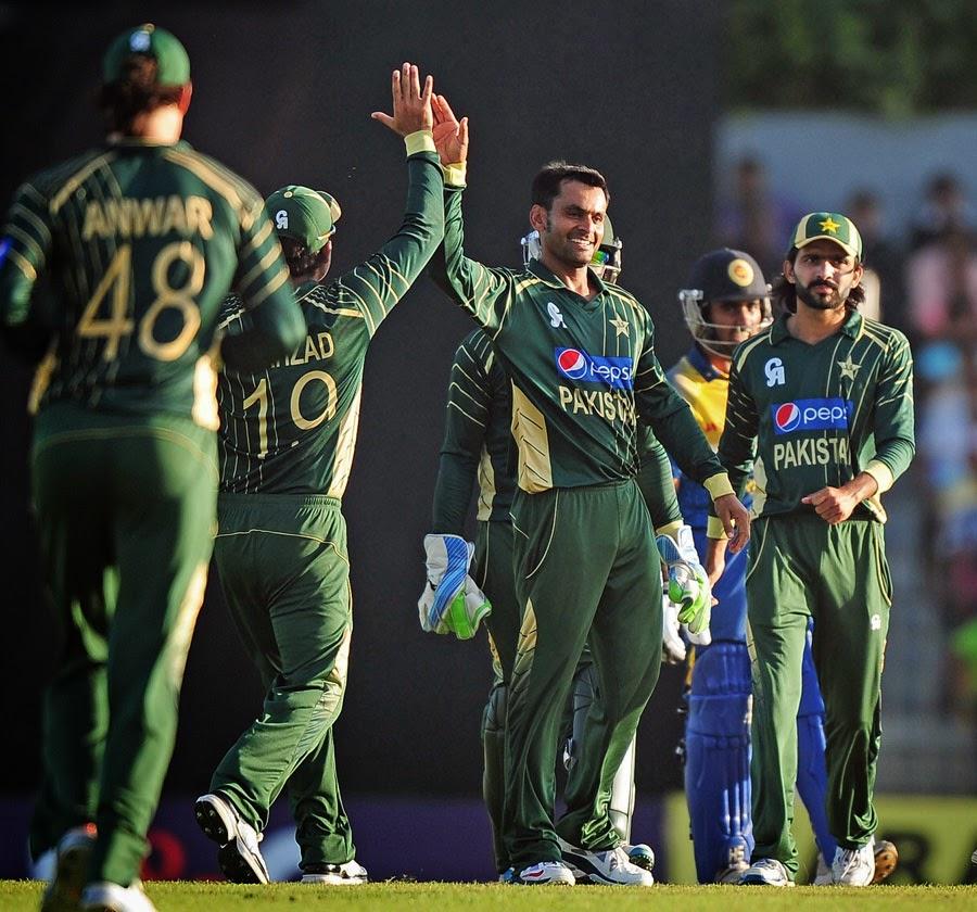 Pak vs Srilanka 3rd ODI Live Score Card 30 August 2014