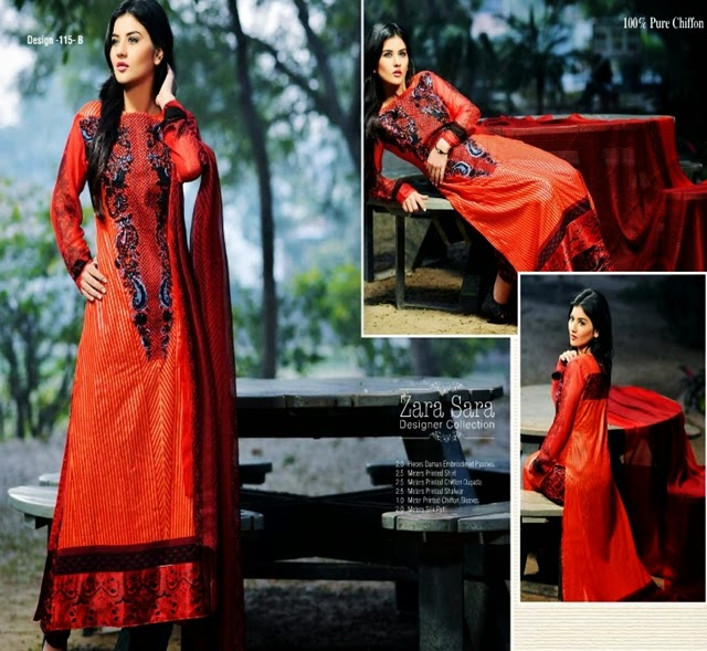 Dawood Zara Sara Trendy Lawn Dresses 2014 for Summer