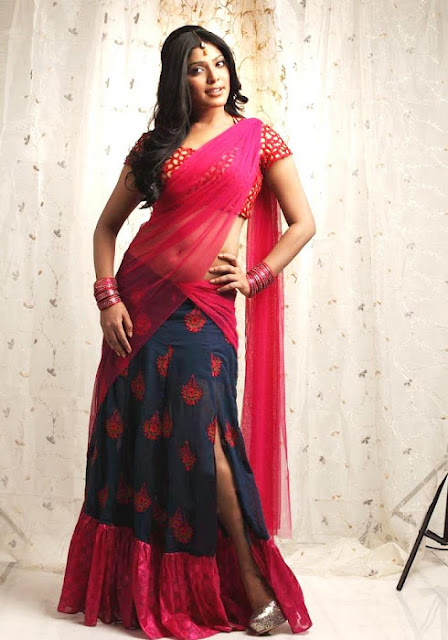 Rima Kallingal in Saree Hot Photos
