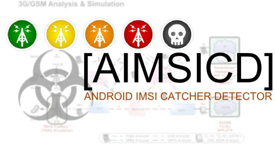 android imsi catcher detector