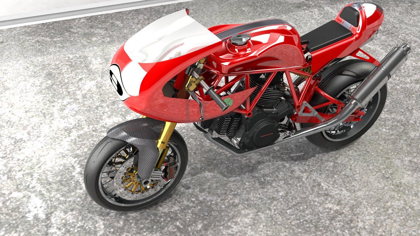 Ducati Desmo Cafe Racer