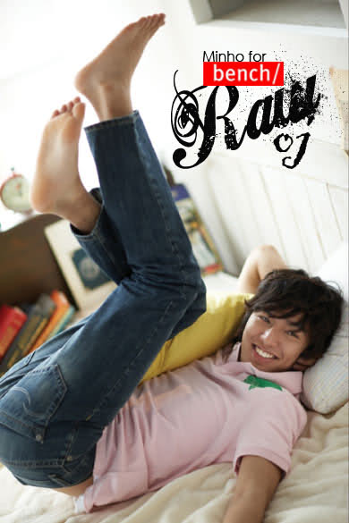 Lee Min Ho Bench Newest Endorser