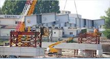 Alessandria: 11 settembre 2012, con la posa della prima trave nasce il ponte Meier, video