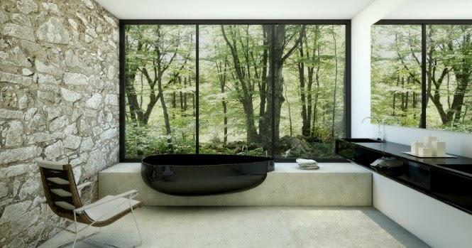 Dise o de interiores arquitectura elegantes cuartos de - Cuartos de bano elegantes ...