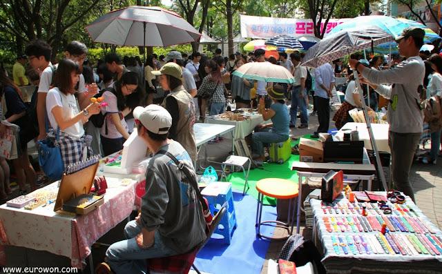 Mercadillo Free Market de Hongdae