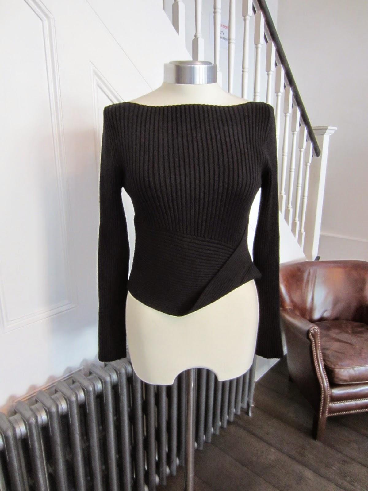 Sarah Pacini Black Knit