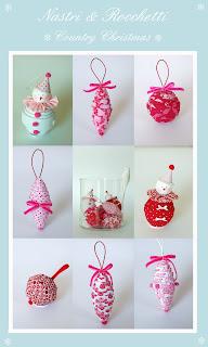 fabric christmas balls