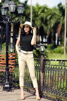 Tư vấn thời trang 2015 và cách mix đồ cùng quần tây sang chảnh.