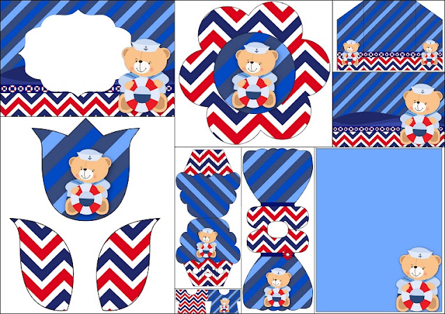 Sailor Baby Shower Invitations as amazing invitation template